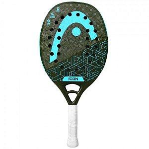 Raquete Head Beach Tennis Icon - Ciano