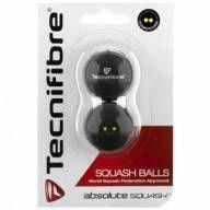 Bola de squash Tecnifibre - Kit 2 bolas