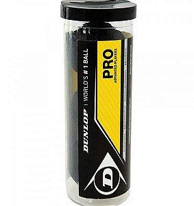 Bola de squash Dunlop XX Revelation PRO - Tubo com 3 bolas