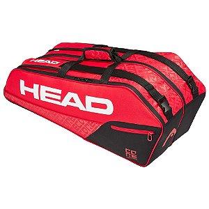 Raqueteira Head Core 6R Combi New - Vermelha e Preta