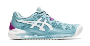 Tênis Asics Gel Resolution 8 Smoke Blue
