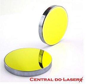 Espelho dourado de 20mm - Para máquinas de corte e gravação a laser.