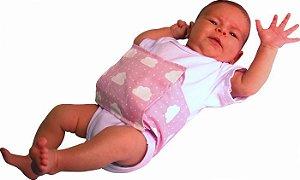 Bolsa térmica de sementes Bebê Sem Cólica com cinta