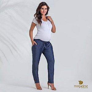 Calça Gestante Pijama Jeans Liocel