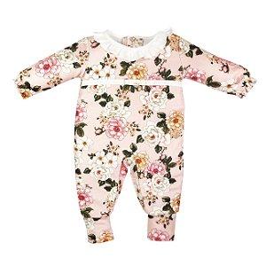 Macacão Bebê Menina Plush Antonieta
