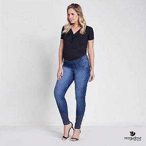 Calça Jeans Gestante Skinny Clarice