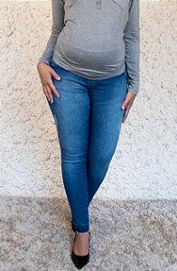 Calça Gestante Jeans Skinny Maitê