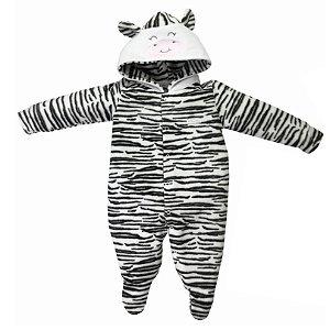 Macacão Bebê Microsoft Zebrinha