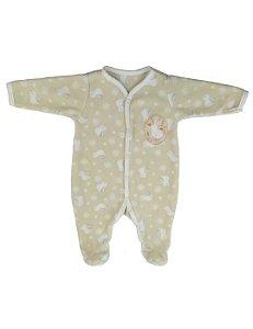 Macacão Pijama Bebê Microsoft Coelhinhos