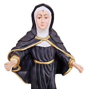 Santa Rita de Cassia com Raminho 30cm