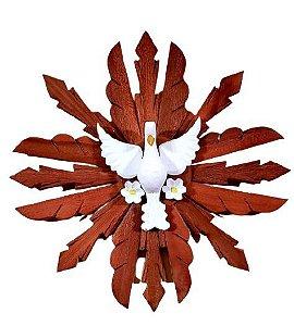 Divino Madeira com Flores 60 cm