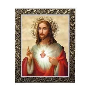 Quadro do Sagrado Coração de Jesus 1