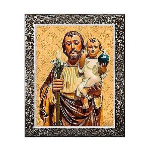 Quadro São José com Menino Jesus 2