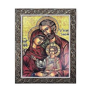 Quadro Sagrada Família ícone