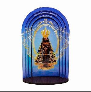 Capela Nossa Senhora Aparecida 24cm MDF 3D