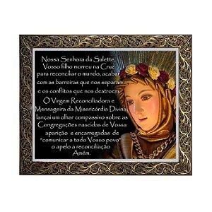Quadro Nossa Senhora de La Salete 2