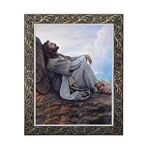Quadro Jesus Rezando 3