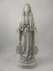 Nossa Senhora das Graças de Mármore 20 cm