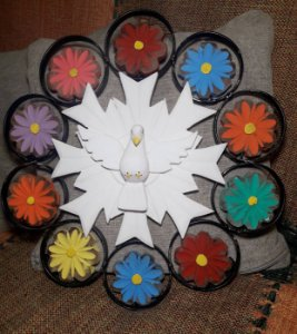 Mandala Divino Ferro 40 Cm