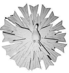 Divino Espírito Santo em Madeira 55 cm