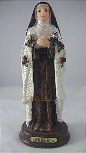 Santa Teresinha Manto de Juta 13 cm
