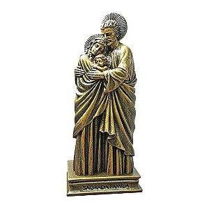 Sagrada Família em Mármore Cor Bronze