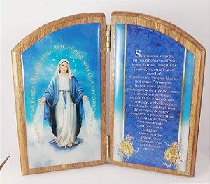 Devoção de Mesa 16 cm Nossa Senhora Das Graças