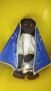 Boneca de Pano Nossa Senhora Aparecida de 30 cm