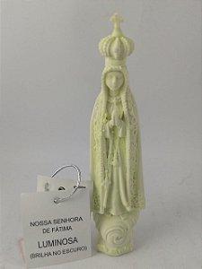 Nossa Senhora de Fátima Fluorecente 11 cm Importada