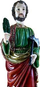 São Judas Tadeu com Machado 20 cm Di Angelus
