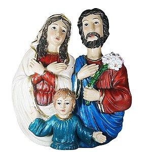 Sagrada Família Medalhão 13 cm