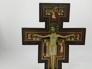 Crucifixo de São Damião Mesa 16 cm