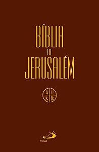 Bíblia de Jerusalém Média Capa Cristal