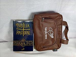 Kit Bíblia Pastoral e Porta Bíblia