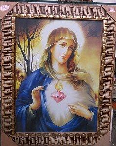 Quadro do Sagrado Coração de Maria