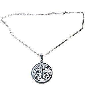 Cordão medalha de São Bento Grande