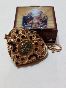 Chaveiro Coração Sagrada Família