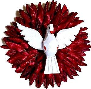 Divino Espirito Santo Semente Artesanal Decorativo Médio