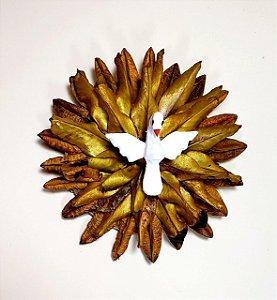 Divino Espirito Santo Semente Artesanal Decorativo Pequeno