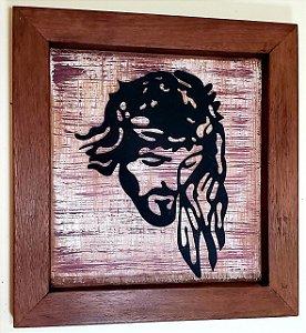 Quadro de Madeira Cristo