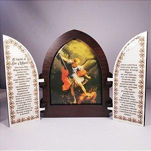 Capela São Miguel MDF com Porta 18cm