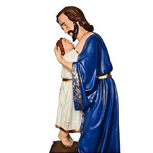 São José Operário com Menino Jesus