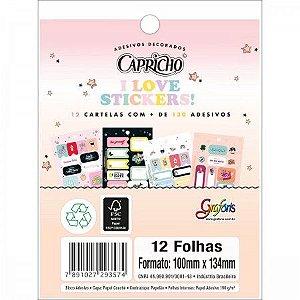 BLOCO DE ADESIVOS CAPRICHO - TILIBRA
