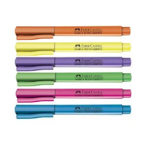 MARCA-TEXTO GRIFPEN NEON - FABER CASTELL