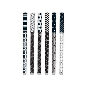 CANETA BLACK & WHITE 1.0mm - MOLIN