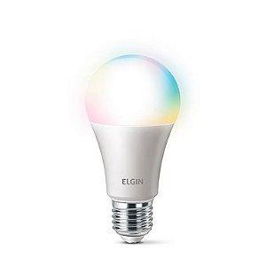 Lâmpada LED Bulbo 10W RGB Bivolt Smart Compatível com Alexa | ELGIN