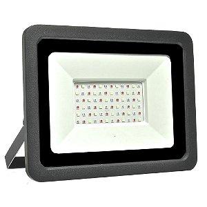 Refletor MicroLED Ultra Thin 100W RGB com Controle