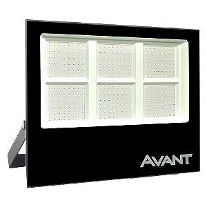 Refletor MicroLED Ultra Thin 300W Branco Frio Black Type