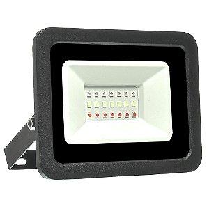 Refletor Holofote MicroLED SMD 50W RGB com Controle
