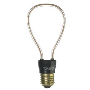 Lâmpada LED Filamento 2D 4W Branco Quente Bivolt E27